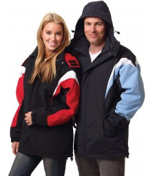 Winning Spirit Unisex Bathurst Tri-colour Jacket With Hood