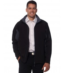 Winning Spirit Men's Softshell Contrast Jacket