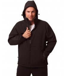 Winning Spirit Men's Softshell Hooded Jacket