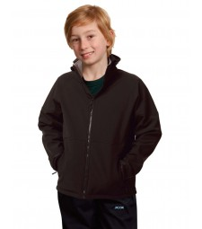 Winning Spirit Kids' Softshell Hooded Jacket