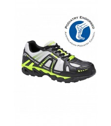 KingGee Comp-Tec Safety Shoe Lime/Black