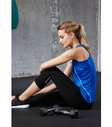 Biz Collection Ladies Flex 3/4 Leggings