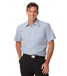 Winning Spirit Men's Balance Stripe Short Sleeve Shirt