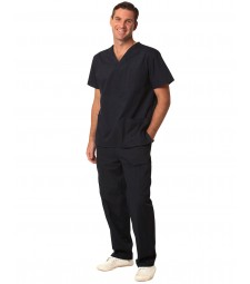 Winning Spirit Unisex Scrubs Short Sleeve Tunic Top