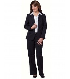 Winning Spirit Ladies' Wool Blend Stretch Mid Length Jacket