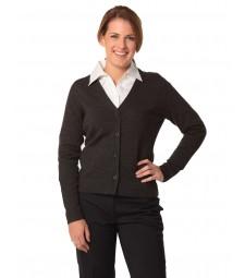 Winning Spirit Ladies' V-Neck Long Sleeves Cardigan