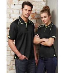 Biz Collection Mens Fusion Polo