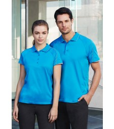 Biz Collection Mens Blade Polo