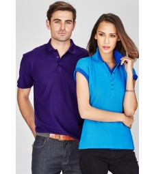 Biz Collection Mens Crew Polo