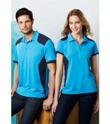 Biz Collection Mens Rival Polo
