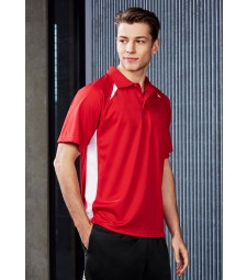 Biz Collection Mens Splice Polo