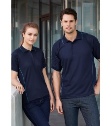 Biz Collection Mens Resort Polo
