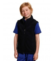 Winning Spirit Kids' Bonded Fleece Vest