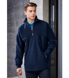 Biz Collection Mens Heavy Weight 1/2 Zip Winter Fleece
