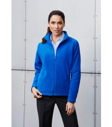 Biz Collection Ladies Plain Micro Fleece Jacket