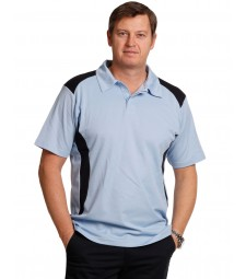 Winning Spirit Men's TrueDry® Contrast Short Sleeve Polo
