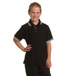 Winning Spirit Kids' TrueDry® Pique Short Sleeve Polo