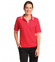 Winning Spirit Ladies' TrueDry® Pique Short Sleeve Polo