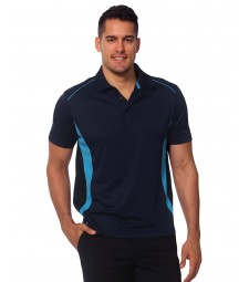 Winning Spirit Men's CoolDry® Short Sleeve Contrast Polo