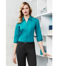 Biz Collection Ladies Monaco 3/4 Sleeve Shirt