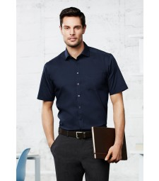 Biz Collection Mens Monaco Short Sleeve Shirt