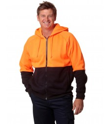Winning Spirit High Visibility TwoTone Fleecy Hoodie