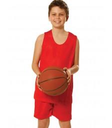 Winning Spirit Kids' CoolDry®Reversible Basketball Singlet