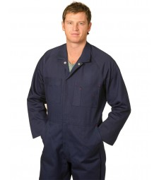 Winning Spirit Men's Cotton Drill Coverall