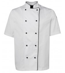 JB's Short Sleeves Unisex Chefs Jacket