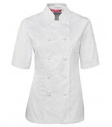 JB's Ladies Short Sleeves Chef's Jacket