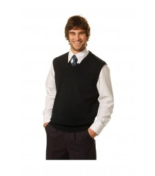 Winning Spirit V-Neck Wool/Acrylic Knit Vest