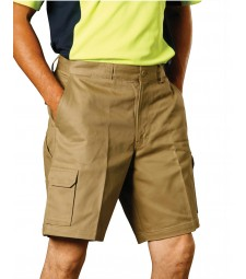 Winning Spirit Men's Heavy Cotton Drill Cargo Shorts