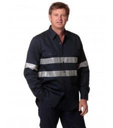 Winning Spirit Cotton Drill Work Shirt