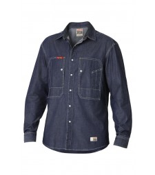 Yakka 3056 Denim Long Sleeve Shirt