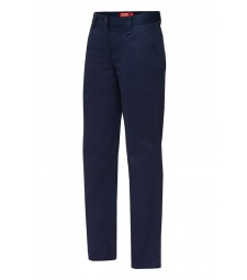 Yakka Womens Cotton Drill Plain Front Pants