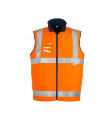 Syzmik Hi Vis Lightweight Fleece Lined Vest