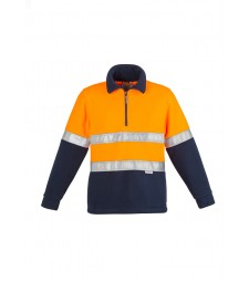 Syzmik Hi Vis Fleece Jumper - Hoop Taped