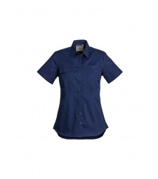 Syzmik Womens Lightweight Tradie Shirt - Short Sleeve