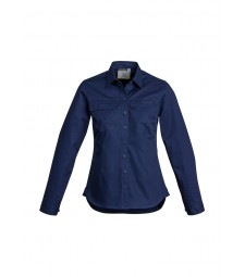 Syzmik Womens Lightweight Tradie Shirt - Long Sleeve