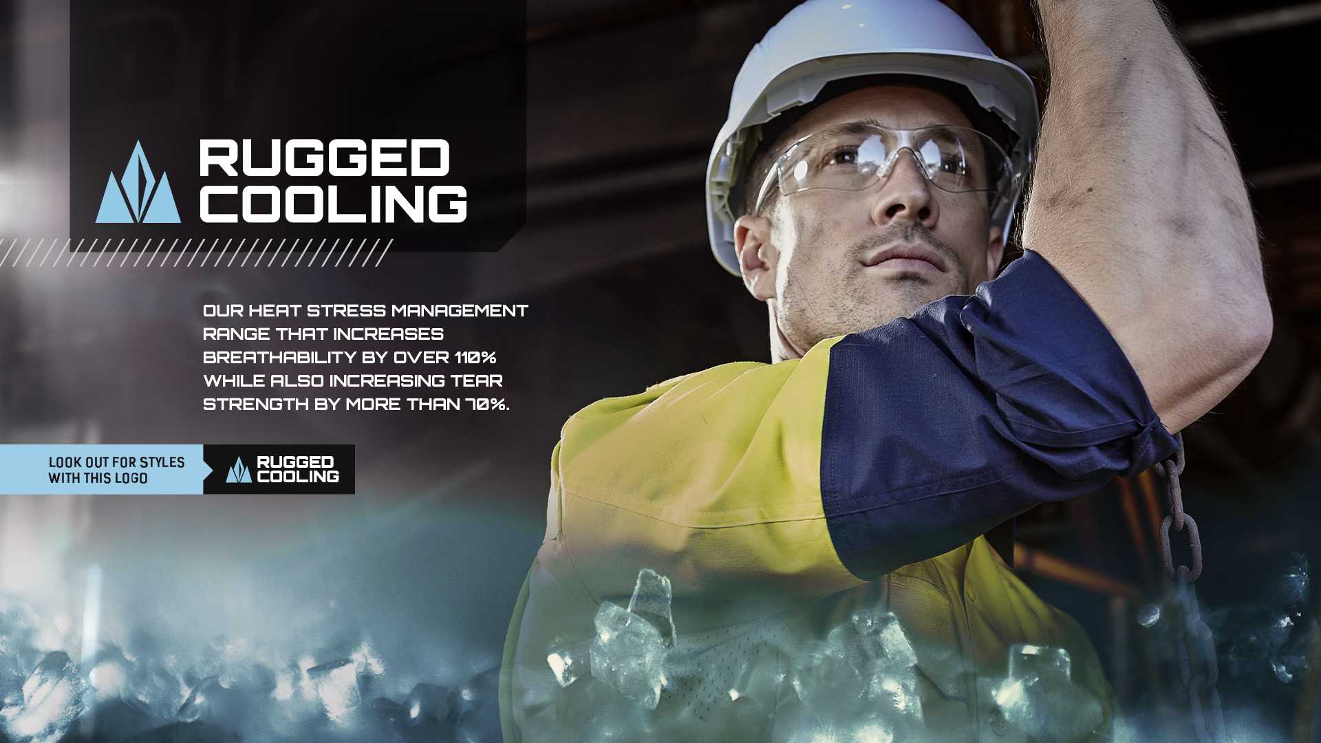 Rugged Cooling – Next Generation Heat Stress Management Range.